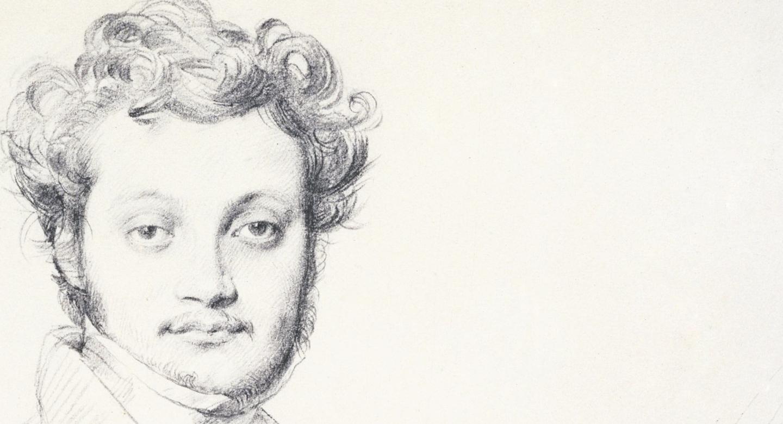 Luigi Calamatta par Jean-Auguste-Dominique Ingres