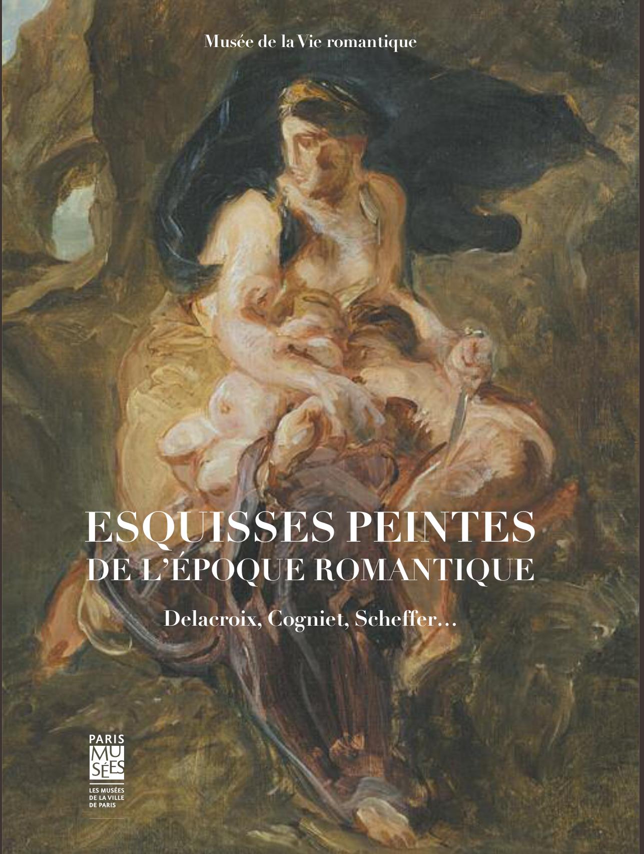 couverture du Catalogue d'exposition Esquisses peintes