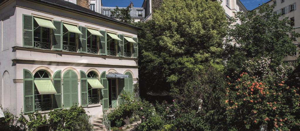 Mus e de la vie romantique - Musee de la vie romantique salon de the ...